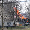 House fire in the 4200 block of Ind. 236 on Sunday March 5, 2017.  About 1:40 p.m.<br /> <br /> Photographer's Name: Pete Domery<br /> Photographer's City and State: Markleville, Ind.