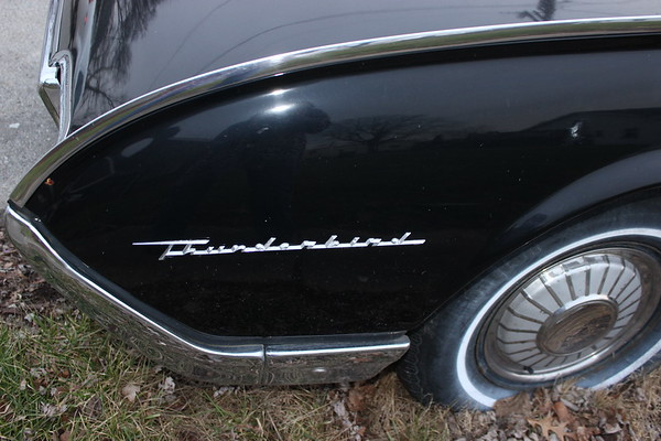 1962 Thunderbird in wonderful condition.<br /> <br /> Photographer's Name: Rebecca Reding<br /> Photographer's City and State: Anderson, Ind.