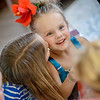 My granddaughter Nilsa Fox gets a kiss from her sister Evelyn on her birthday.<br /> <br /> Photographer's Name: Terry Lynn  Ayers<br /> Photographer's City and State: Anderson, Ind.