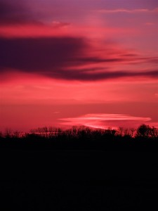Pre-dawn at the farm.  Photographer's Name: J.R. Rosencrans Photographer's City and State: Alexandria, Ind.