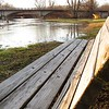 A flooding White River in late February.<br /> <br /> Photographer's Name: Harry Van Noy<br /> Photographer's City and State: Lafayette Township, Ind.
