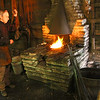 This is a very talented gentleman at Spring Mill State Park who operates the blacksmith area at the park.<br /> <br /> Photographer's Name: Jerry Byard<br /> Photographer's City and State: Anderson, Ind.