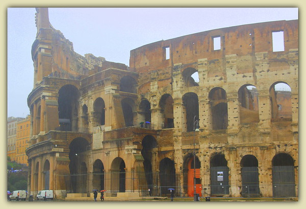 The Colosseum, Rome, March 2015<br /> <br /> Photographer's Name: Laura Johnson<br /> Photographer's City and State: Alexandria, Ind.