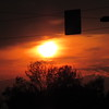 Saturday sunset.<br /> <br /> Photographer's Name: Harry Van Noy<br /> Photographer's City and State: Lafayette Twp., Ind.