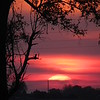 Monday night sunset viewed from Lafayette Township.<br /> <br /> Photographer's Name: Harry Van Noy<br /> Photographer's City and State: Lafayette Township, Ind.