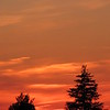 Sunday sunset.<br /> <br /> Photographer's Name: Harry Van Noy<br /> Photographer's City and State: Lafayette Township, Ind.