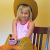 "Our granddaughter's ""Cowboy Birthday""...Katie Gray.<br /> <br /> Photographer's Name: J.R.  Rosencrans<br /> Photographer's City and State: Alexandria, Ind."