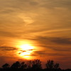 A mid-May sunset.<br /> <br /> Photographer's Name: Harry Van Noy<br /> Photographer's City and State: Lafayette Township, Ind.