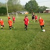 A youth soccer game in Pendleton.<br /> <br /> Photographer's Name: Mike  Neff<br /> Photographer's City and State: Pendleton, Ind.