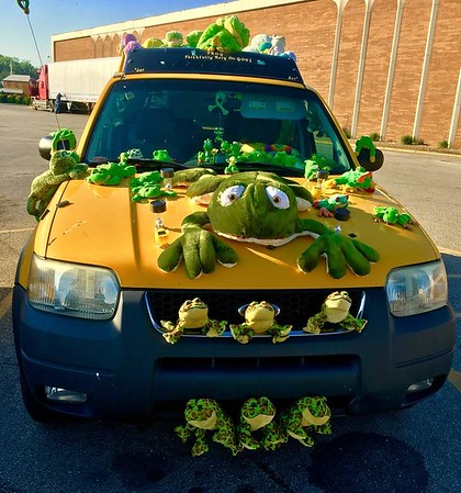 """I found a """"Frogmobile"""" at Mounds Mall, Anderson.<br /> <br /> Photographer's Name: J.R. Rosencrans<br /> Photographer's City and State: Alexandria, Ind."""