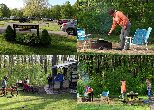Indiana State Parks advertised a camping weekend, and this is at Mounds Park recently.<br /> <br /> Photographer's Name: Jerry Byard<br /> Photographer's City and State: Anderson, Ind.