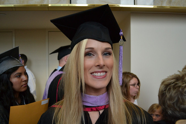 Danielle Ward graduated from the IU School of Denistry on Saturday, May 12. She is headed to the University of Michigan to do her residency in the Orthodonic program.<br /> <br /> Photographer's Name: Terry Ward<br /> Photographer's City and State: Frankton, IN