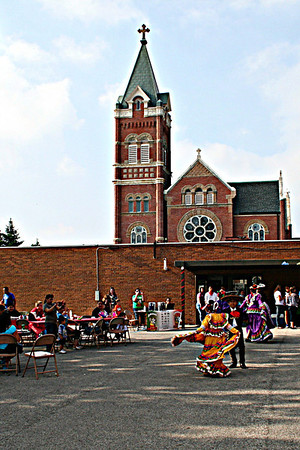 Cinco De Mayo celebration at St. Mary's School in Anderson.<br /> <br /> Photographer's Name: Jennifer Delillo<br /> Photographer's City and State: Anderson, IN