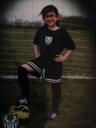 My grandson, Matthew, in his first year of soccer.<br /> <br /> Photographer's Name: Paula Spradlin<br /> Photographer's City and State: Anderson, Ind.