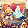Before trick or treat. Elsa and Raphael <br /> <br /> Photographer's Name: Jennifer Loudenback<br /> Photographer's City and State: Anderson, Ind.