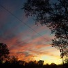 Nov. 1 sunset.<br /> <br /> Photographer's Name: Harry Van Noy<br /> Photographer's City and State: Anderson, Ind.