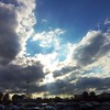 Clouds over Anderson, Nov. 4, 2015.<br /> <br /> Photographer's Name: Harryv Van Noy<br /> Photographer's City and State: Anderson, Ind.