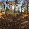 Circle Mound at Mounds Park in the morning sunlight.<br /> <br /> Photographer's Name: Jerry Byard<br /> Photographer's City and State: Anderson, Ind.