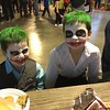 Brothers Bennett and Carter Sovern dress up like the Joker  at Alexandria's monster bash last weekend.<br /> <br /> Photographer's Name: Carrie  Long<br /> Photographer's City and State: Alexandria, Ind.