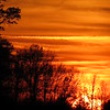 A mid-November sunset.<br /> <br /> Photographer's Name: Harry Van Noy<br /> Photographer's City and State: Lafayette Township, Ind.