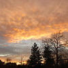 A fiery sky over Anderson on a cold Tuesday, November day.<br /> <br /> Photographer's Name: Harry Van Noy<br /> Photographer's City and State: Lafayette Township, Ind.