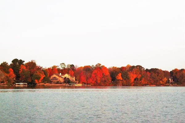 Lake color at Geist Reservoir.<br /> <br /> Photographer's Name: J.R. Rosencrans<br /> Photographer's City and State: Alexandria, Ind.