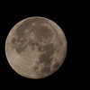 Photo of the moon set the morning after Monday evening's super moon.<br /> <br /> Photographer's Name: Jerry Byard<br /> Photographer's City and State: Anderson, Ind.