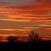 A beautiful Monday evening sunset while waiting on the super moon to rise.<br /> <br /> Photographer's Name: Jerry Byard<br /> Photographer's City and State: Anderson, Ind.