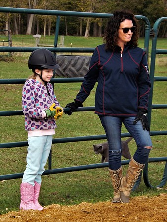 Ready to ride,,, at Moon Rise Farm in Richland Township.<br /> <br /> Photographer's Name: J.R. Rosencrans<br /> Photographer's City and State: Alexandria, Ind.