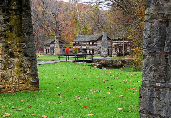 A scene in the village at Spring Mill State Park.<br /> <br /> Photographer's Name: Jerry Byard<br /> Photographer's City and State: Anderson, Ind.