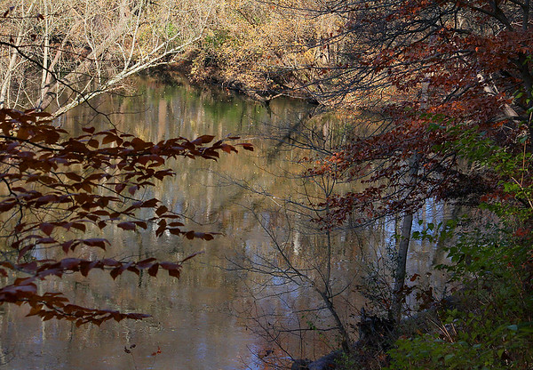 A fall look at the bend in White River at Mounds Park.<br /> <br /> Photographer's Name: Jerry Byard<br /> Photographer's City and State: Anderson, Ind.