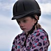 Hanna Souder learning to ride at Moon Rise Farms in Richland Township.<br /> <br /> Photographer's Name: J.R. Rosencrans<br /> Photographer's City and State: Alexandria, Ind.