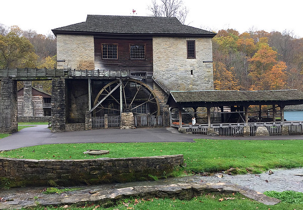 The grist mill at Spring Mill State Park.<br /> <br /> Photographer's Name: Jerry Byard<br /> Photographer's City and State: Anderson, Ind.