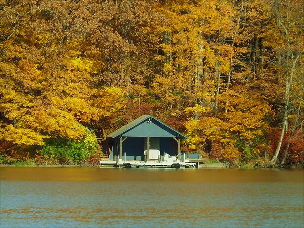 The boat house at Geist Reservoir.<br /> <br /> Photographer's Name: J.R. Rosencrans<br /> Photographer's City and State: Alexandria, Ind.