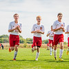 Liberty Christian soccer team after a winning game.<br /> <br /> Photographer's Name: Terry Lynn Ayers<br /> Photographer's City and State: Anderson, Ind.