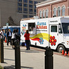 "Having lunch on ""Food Truckin' Thursday"" at Citizens Plaza.<br /> <br /> Photographer's Name: Pete Domery<br /> Photographer's City and State: Markleville, Ind."