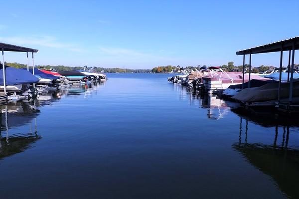 """Boat Docks."" Photo taken at Morse Reservoir.<br /> <br /> Photographer's Name: J.R. Rosencrans<br /> Photographer's City and State: Alexandria, Ind."