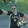 Lapel Middle School seventh-grade cheerleader Elia Sink helps cheer on the seventh grade football team at a recent game.<br /> <br /> Photographer's Name: David Sink<br /> Photographer's City and State: Anderson, Ind.
