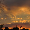 Sunset over Madison County.<br /> <br /> Photographer's Name: Harry Van Noy<br /> Photographer's City and State: Lafayette Township, Ind.