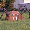 Giant spiders invade Alexandria.<br /> <br /> Photographer's Name: Laura Jones<br /> Photographer's City and State: Alexandria, Ind.