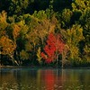 The start of fall at Morse Reservoir.<br /> <br /> Photographer's Name: J.R. Rosencrans<br /> Photographer's City and State: Alexandria, Ind.