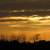 Early October, golden sunset in Madison County.<br /> <br /> Photographer's Name: Harry Van Noy<br /> Photographer's City and State: Lafayette Township, Ind.
