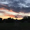 Sunset 10-1-17<br /> <br /> Photographer's Name: Betty Crum<br /> Photographer's City and State: Alexandria, Ind.