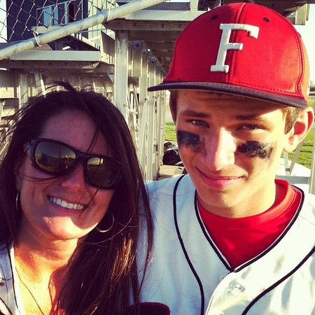 Austin Chapman with his #1 fan aka Mom (Shelley Chapman)<br /> <br /> Photographer's Name: Austin Chapman<br /> Photographer's City and State: Alexandria, IN