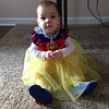 This is Aubrey Sovern, 10 months, of Alexandria, dressed as Snow White.<br /> <br /> Photographer's Name: Carrie Long<br /> Photographer's City and State: Alexandria, Ind.