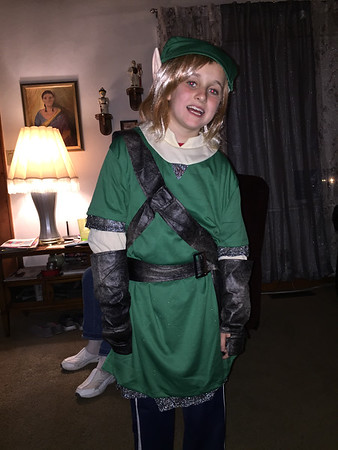 """Brayden Delph is """"Link"""" from Legend Of Zelda.<br /> <br /> Photographer's Name: Ashton Delph<br /> Photographer's City and State: Anderson, Ind."""