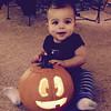 Our son's first Halloween! We love you Karson! -Mommy and Daddy<br /> <br /> Photographer's Name: Kory Kiser<br /> Photographer's City and State: Anderson, Ind.