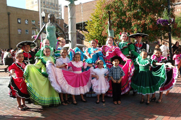 The Anderson Ballet Folklorico dance troupe.<br /> <br /> Photographer's Name: Tanya Gonzalez<br /> Photographer's City and State: Anderson, Ind.