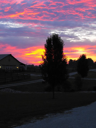 Summer sunrise in Richland Township.<br /> <br /> Photographer's Name: J.R. Rosencrans<br /> Photographer's City and State: Alexandria, Ind.