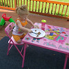 My granddaughter Ella Stoops eating breakfast on my back deck on a beautiful morning.<br /> <br /> Photographer's Name: Kathy Stoops<br /> Photographer's City and State: Anderson, Ind.